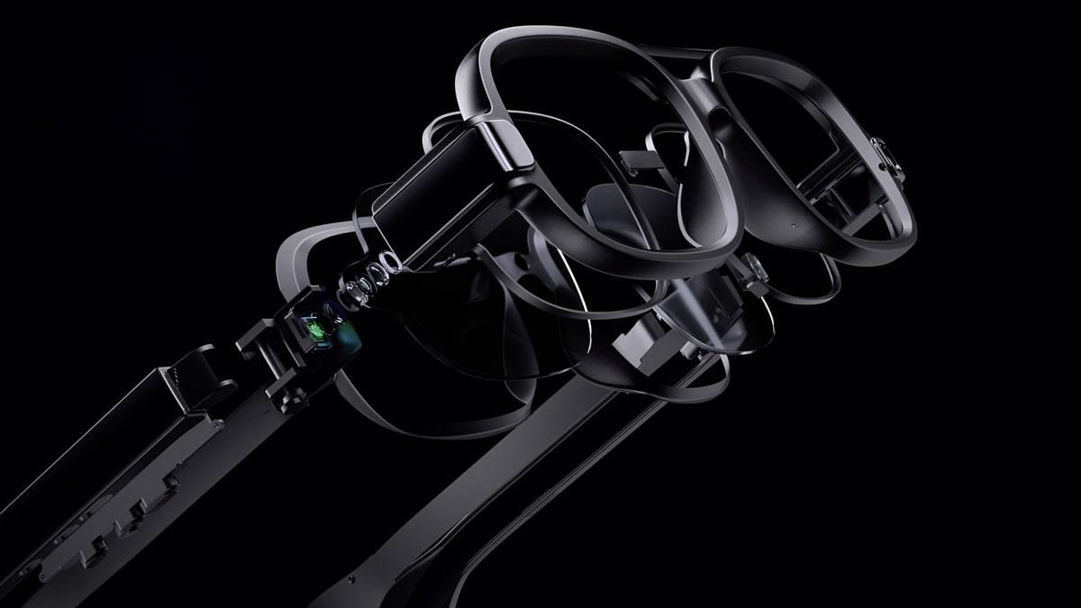 xiaomi lunettes connectees futuriste