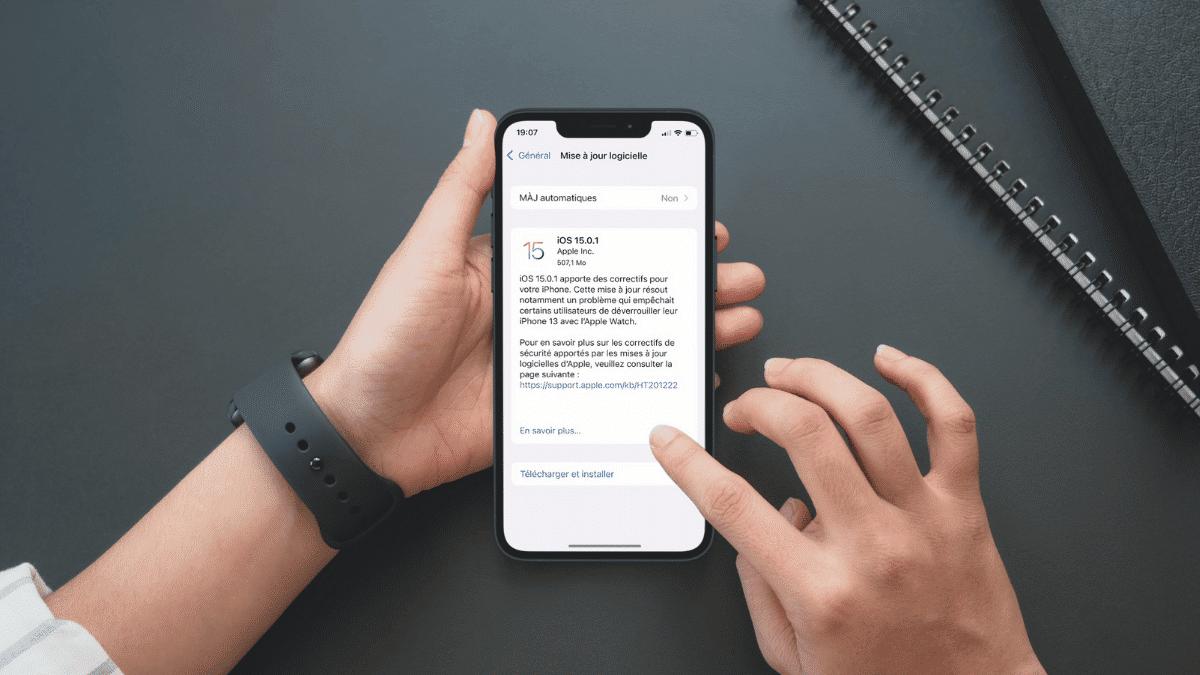 ios-15.0.1-deverouiller-iphone-apple-watch
