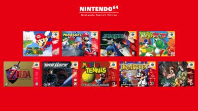 jeux n64 nintendo switch francais 60 Hz